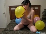 rr131 balloons full - Sexy Balloon Popping