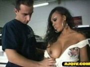 Lacy Duvalle fucked by white mechanic
