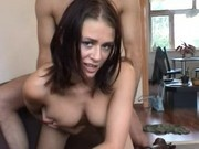 Hot latina Bianca getting drilled by lucky guy