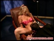 Profetional blonde sucks huge cock Julia Ann