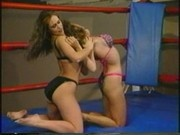 Bikini Clad Bitches Wrestling In The Wrestling Ring