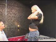 Tasty blonde bangs big cock stud