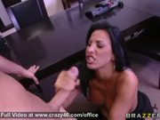 Busty office sex