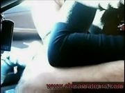 Cojiendo en el carro con una puta/fuck in the car www.chicam