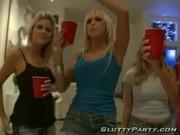 Very hot sluts partying