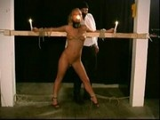 Slave Livia extreme restraints bondage training PART-3