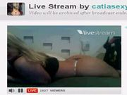 Catia sacaninha sexy no twitcam mostrando peito-44min
