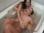 big boobs and big butt bathtub lesbians