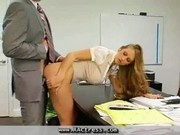 Secretary Seducing Boss to Fuck