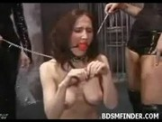 Caged Lesbian BDSM