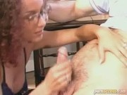 Exotic Brunette Jump The Cock And Spread Her Legs Wide