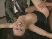 Japanese whore fucked in front of her husband