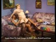 Big Tina woman gives good old titty fuck