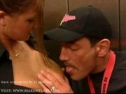 Silvia Elevator antics