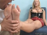 Alexis Texas - Foot Fetish In Latex