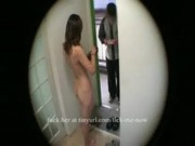 Gets naked for delivery guy
