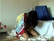 Chica arabe desvirgada