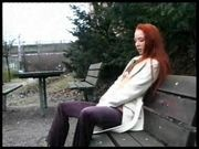 Swedish Redhead loves Sex in public