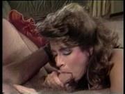 Christy Canyon masturbation, then sex