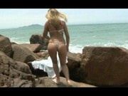Dream girl Gisele getting fucked at the ocean