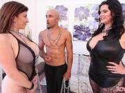King and Angelina Castro Dominate Sara Jay BBW THREESOME