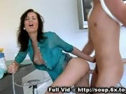 Brunette MILF Doggystyle