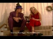 Pimp with silly hat working blonde