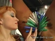 Beautiful Sadistic Mistress Giselle Treats Bad Boy Kali Like
