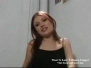 Sharon rubs her clit