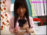 Schoolgirls In Uniform Stimulating Nipples And Pussy With Vibrators For Herself Other Girl Filming H