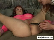 Katja And Kylie - Katja And Kylie In A Hot Lesbian Action