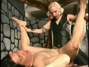 strapon blond bitch