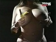 Young Linsey Dawn McKenzie stripping.