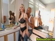 Julia Ann fucked by a fucking humongus black cock