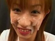 Asian First-Timer Facial Cumshot