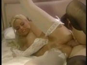 Classic busty blond assfucked in hotel room