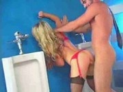 Kayden Kross Fucked In The Bathroom