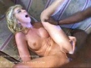 Camille - Busting her mouth with his big black cock