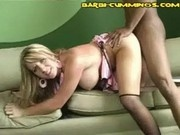 Interracial Creampie Doggystyle
