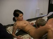 Hot amateur german girl with tattoo anal