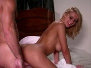 25 year old Chech girl sucking old guy cock and take cumshot