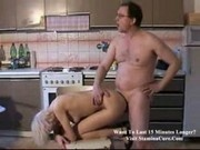 Brenda - Fucked by old dude at the kitchen-2