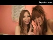 2 Asian Girls Filming When They Fucking Each Other Pussies With Toys On The Bed