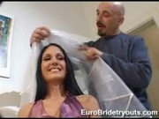 Varah was a hottie who wants to go to the states at Euro Bride Tryouts