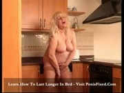Rikarda Jones - Chunky blonde satisfies herself