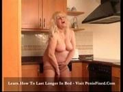 Rikarda Jones - Chunky blonde satisfies herself