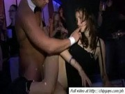 Girls blowjob boners on party