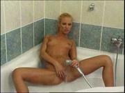 Sexy Blonde Masturbation