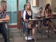 Kagney Linn Karter Horny For Italian Teacher039s Cock