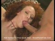 Audrey Hollander - In threesome creampie2